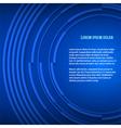 Blue business background presentation booklet vector image