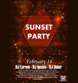 party poster background vector image