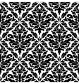 Seamless pattern in damask style vector image