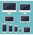 Electronic gadgets isolated vector image
