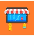 Online Shopping and Sale concept vector image