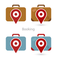 Booking vector image