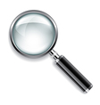 object magnifier vector image