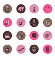 Fashion circle icon vector image vector image
