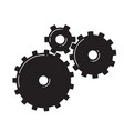 three gears vector image vector image