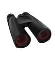 big black binoculars vector image