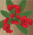 Elegant floral pattern vector image