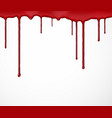 Background with blood vector image