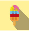ice cream isolated flat style vector image