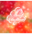 Calligraphic Christmas tree vector image