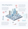 City infographics vector image vector image