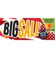 big sale deal 8000x3198 pixel banner vector image