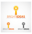 Bright Ideas vector image