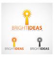Bright Ideas vector image vector image