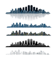 big sity set vector image vector image