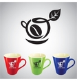 Coffee cup symbol vector image