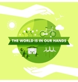 Ecology Friendly Design vector image