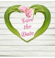 Save the date card EPS 10 vector image