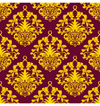damask background vector image