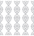 White and grey pattern Wallpaper vector image