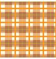 Modern Orange Plaid Pattern vector image