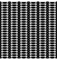 Design seamless monochrome abstract pattern vector image