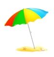 Beach parasol vector image vector image