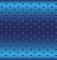 Blue Metallic Grid Dot Background vector image