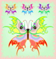 Butterfly from the fairy tales vector image