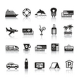 signs tourism travel sports first set icons vector image