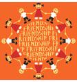 friendship vector image