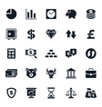 Finance and Stock Icon vector image