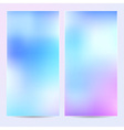 Abstract background template banner or postcard vector image