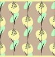 kentucky bluegrass seamless pattern vector image