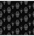 Linear diamond seamless pattern wrap vector image