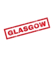 Glasgow Rubber Stamp vector image