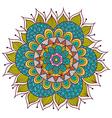 Colorful Floral Mandala vector image