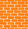 Seamless texture of a cartoon brick wall vector image