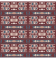 Tribal colored pattern 7 vector image