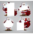 Santa christmas design vector image vector image