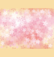 a seamless background image with cherry blossoms vector image