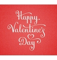 Happy Valentines Day lettering vector image