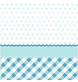 seamless baby pattern wallpaper vector image