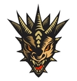 Dragons head tattoo vector image vector image