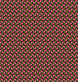 Pink green black pattern vector image