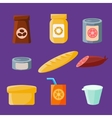 Common Goods and Everyday Products vector image
