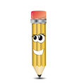 Pencil Cartoon Character vector image vector image