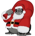 Monkey with gifts vector image vector image
