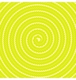 Abstract Yellow Spiral Pattern vector image