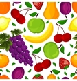 seamless pattern for a healthy lifestyle vector image